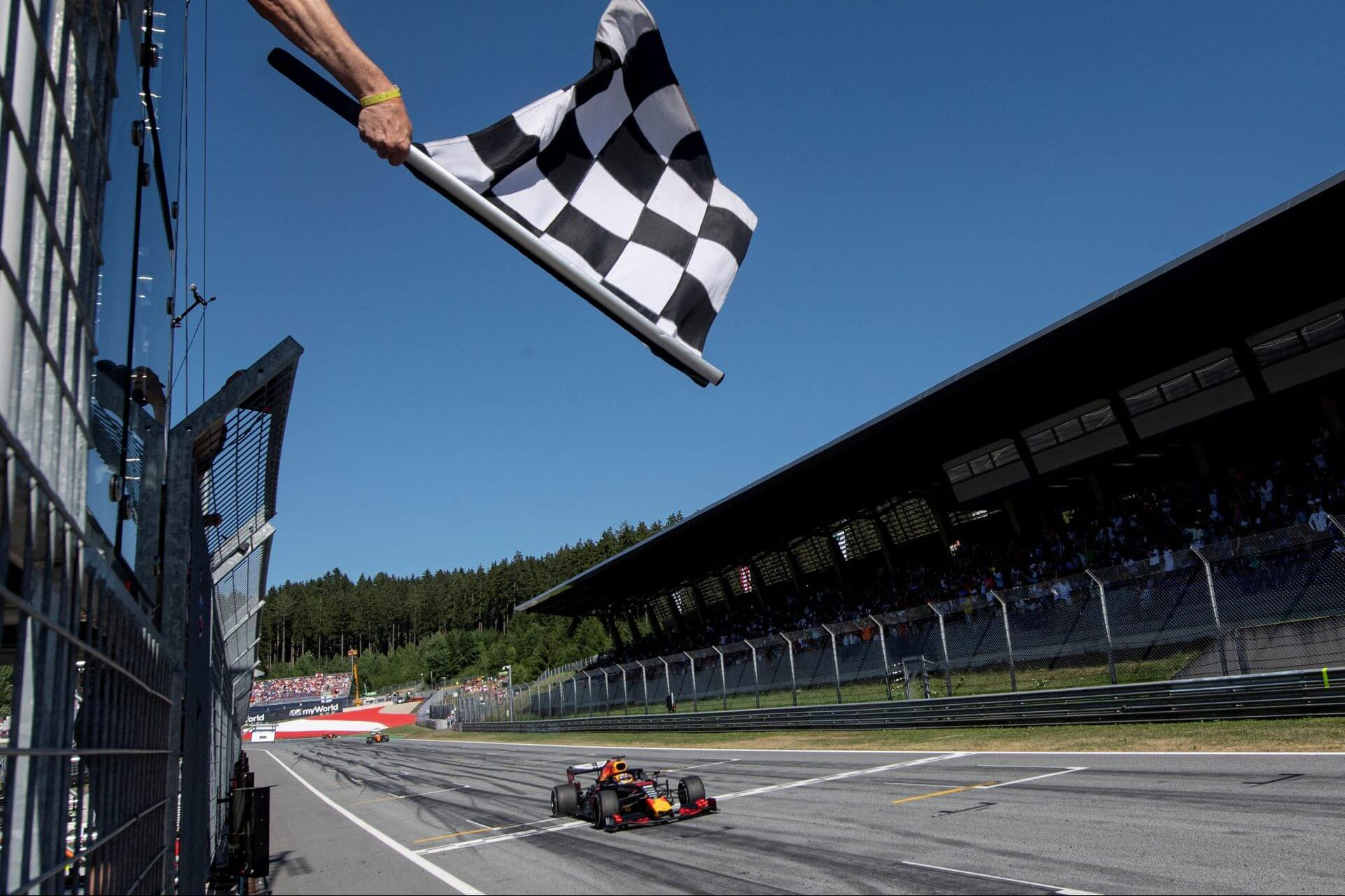 Significado de uma Bandeira utilizada na Fórmula 1